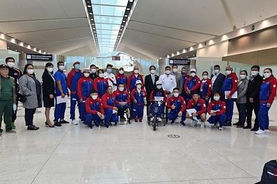 """Монгол Улсын  баг тамирчид """"Токио 2020"""" зуны  Паралимпын XVI-р наадамд оролцохоор Япон улсыг зорилоо"""